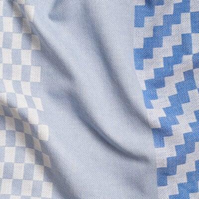 Solberg Weave duk - blå