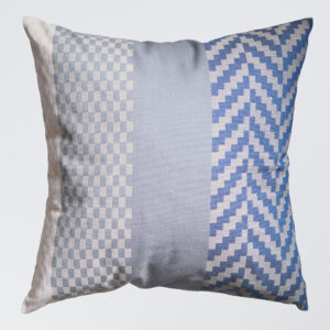 Solberg Weave pute - blå